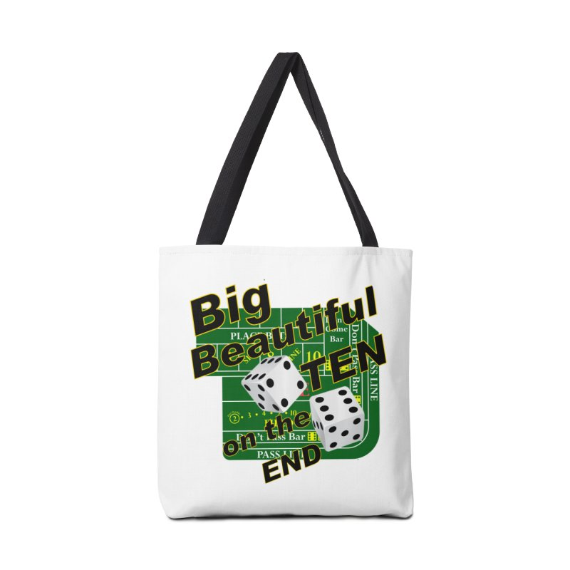 Big Ten Accessories Tote Bag Bag by DesignsbyAnvilJames's Artist Shop