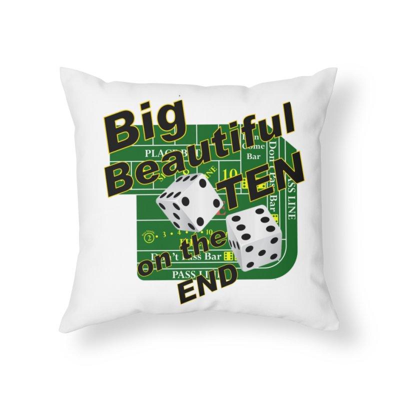 Big Ten Home Throw Pillow by DesignsbyAnvilJames's Artist Shop