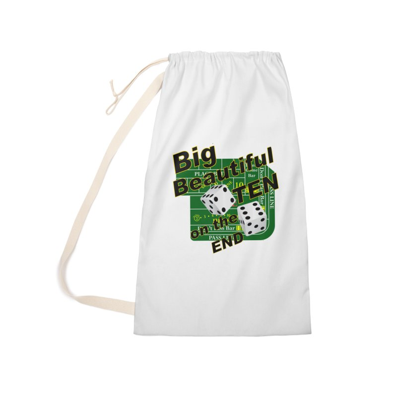 Big Ten Accessories Laundry Bag Bag by DesignsbyAnvilJames's Artist Shop