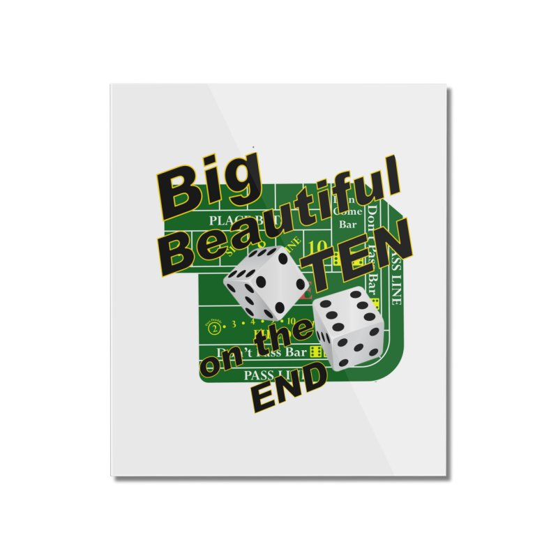 Big Ten Home Mounted Acrylic Print by DesignsbyAnvilJames's Artist Shop