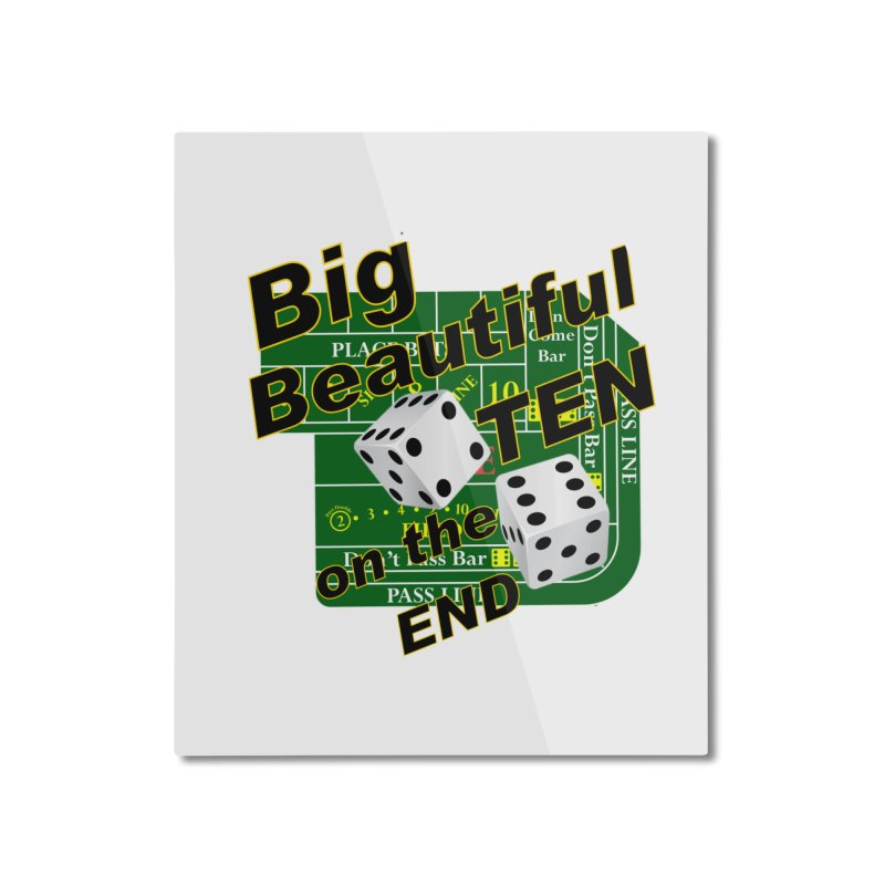 Big Ten Home Mounted Aluminum Print by DesignsbyAnvilJames's Artist Shop