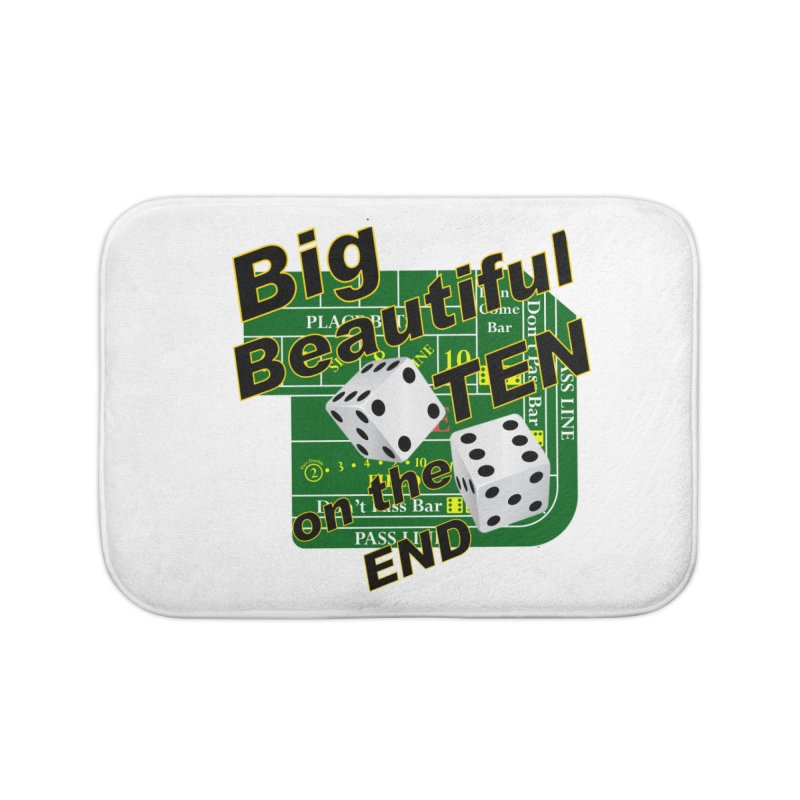 Big Ten Home Bath Mat by DesignsbyAnvilJames's Artist Shop