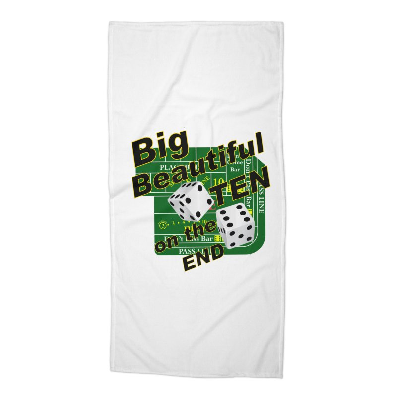 Big Ten Accessories Beach Towel by DesignsbyAnvilJames's Artist Shop