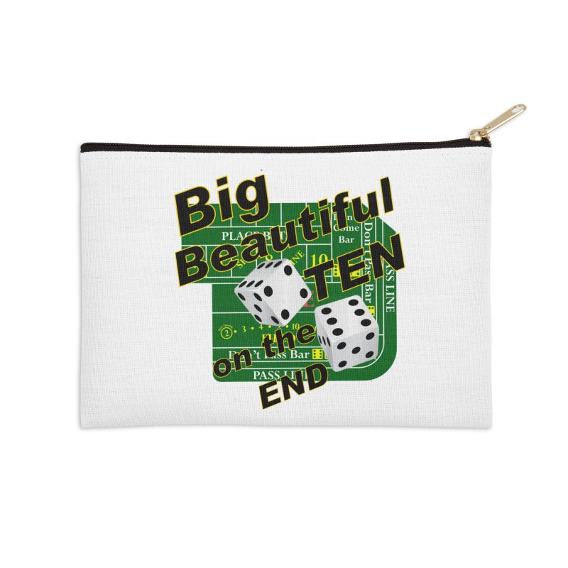 Big Ten Accessories Zip Pouch by DesignsbyAnvilJames's Artist Shop