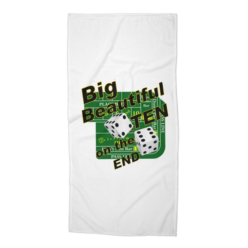 Big Ten Accessories Beach Towel by DesignsbyAnvilJames's Artist Shop