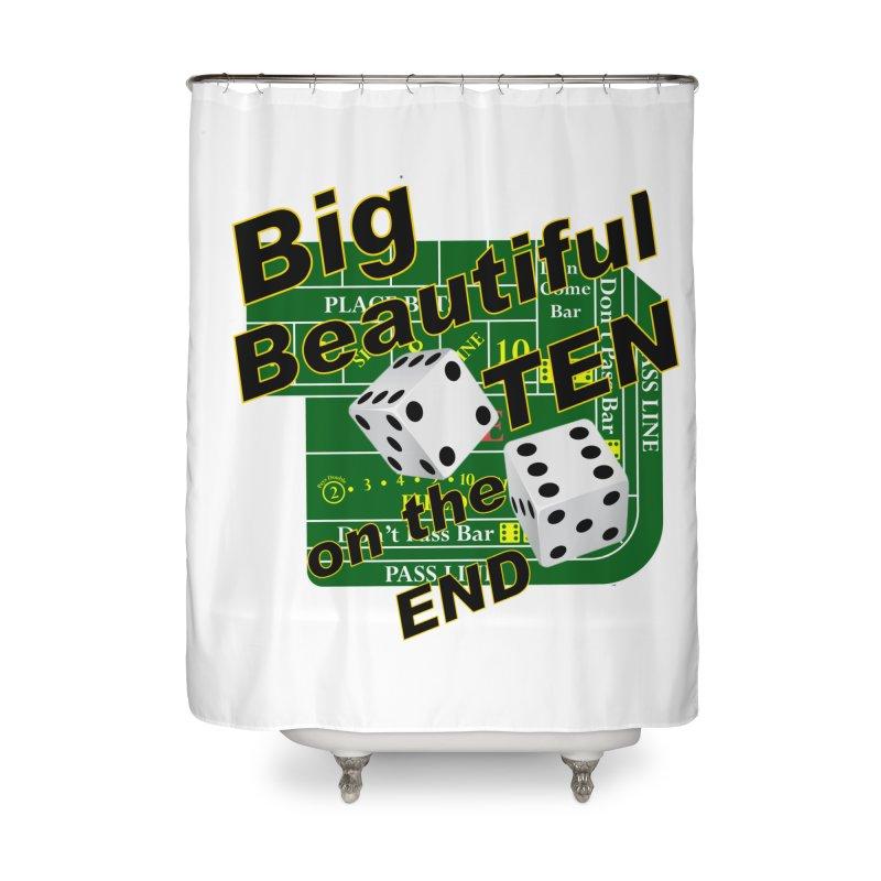 Big Ten Home Shower Curtain by DesignsbyAnvilJames's Artist Shop