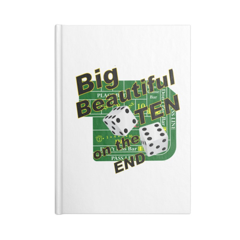 Big Ten Accessories Lined Journal Notebook by DesignsbyAnvilJames's Artist Shop