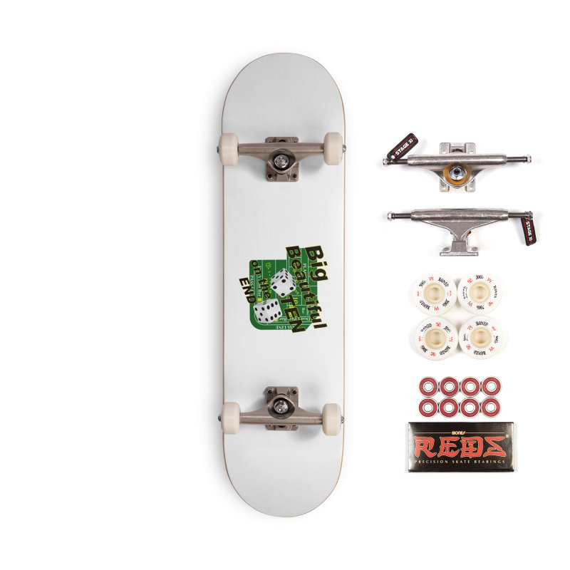 Big Ten Accessories Complete - Pro Skateboard by DesignsbyAnvilJames's Artist Shop