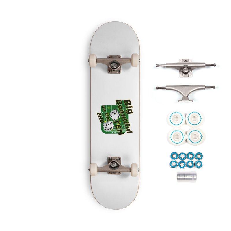 Big Ten Accessories Complete - Basic Skateboard by DesignsbyAnvilJames's Artist Shop