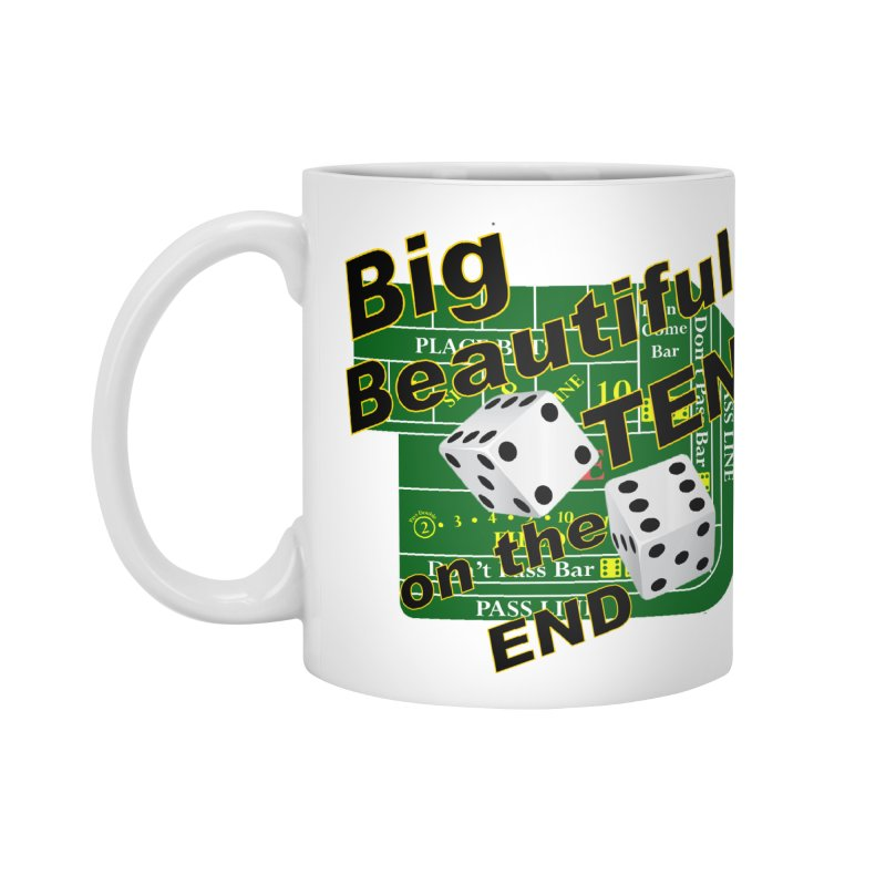 Big Ten Accessories Standard Mug by DesignsbyAnvilJames's Artist Shop