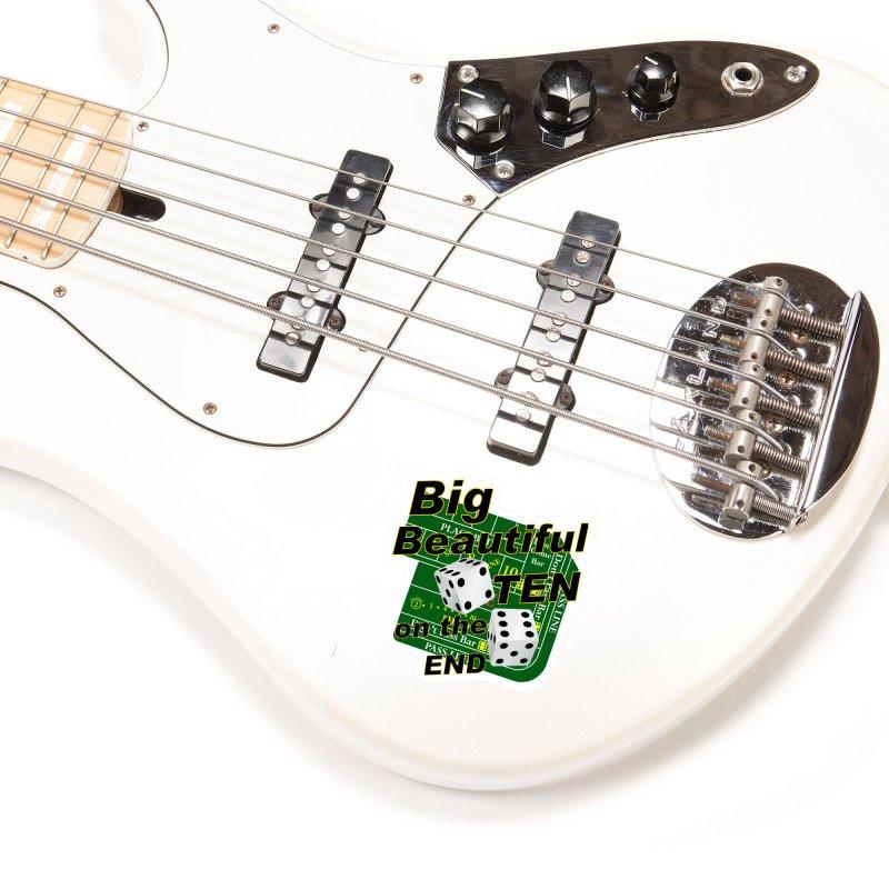 Big Ten Accessories Sticker by DesignsbyAnvilJames's Artist Shop
