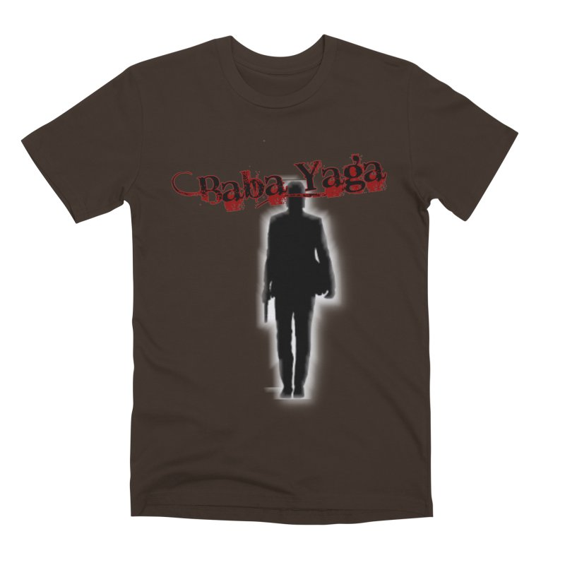 Baba Yaga Men's Premium T-Shirt by DesignsbyAnvilJames's Artist Shop