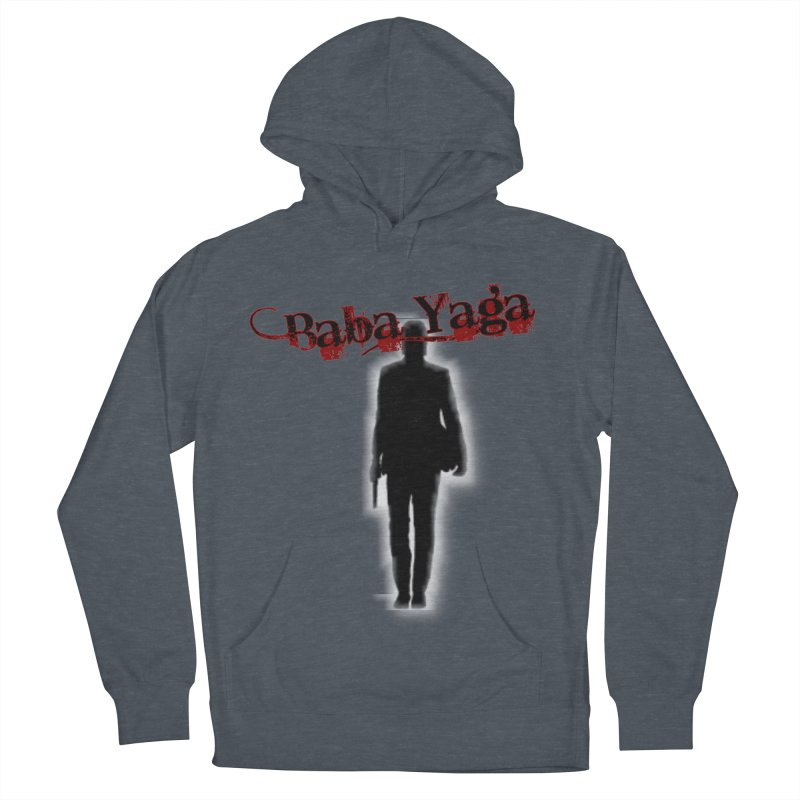 Baba Yaga Men's French Terry Pullover Hoody by DesignsbyAnvilJames's Artist Shop