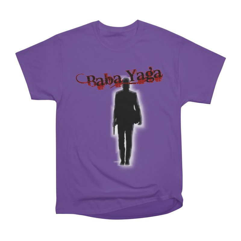 Baba Yaga Women's Heavyweight Unisex T-Shirt by DesignsbyAnvilJames's Artist Shop