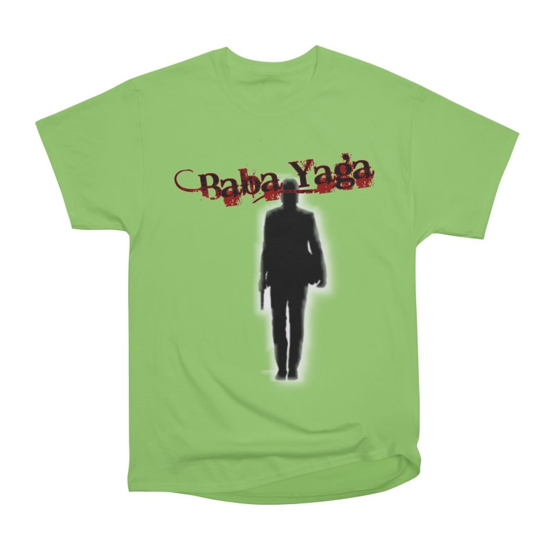 Baba Yaga Women's Heavyweight Unisex T-Shirt by DesignsbyAnvilJames's Artist Shop