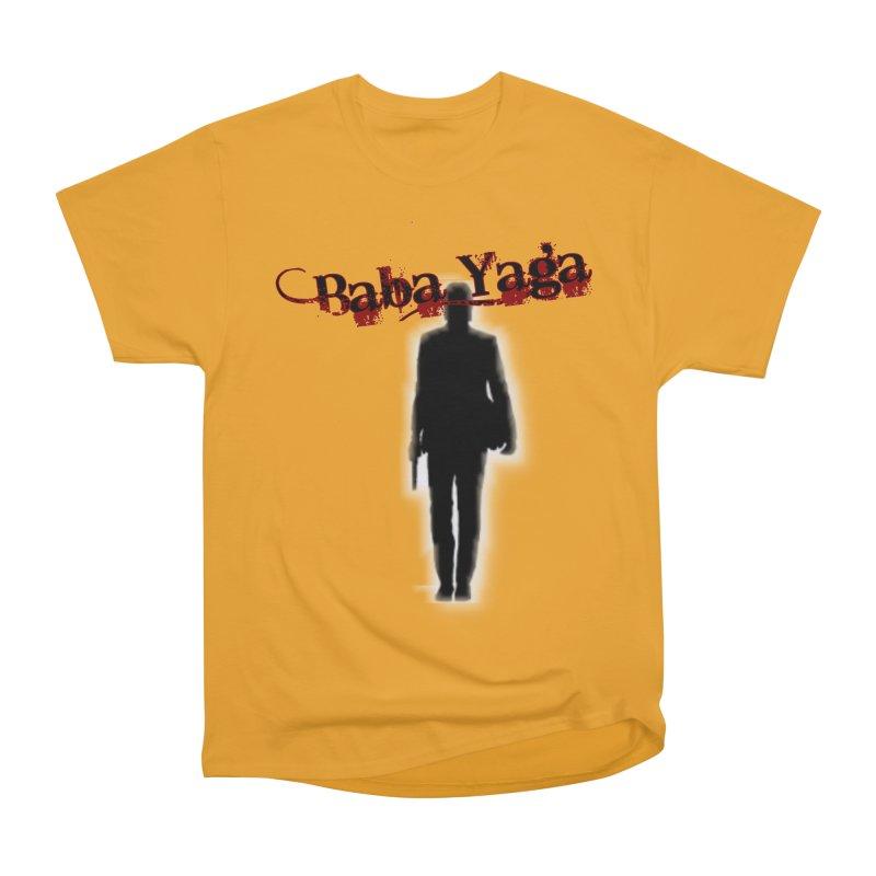 Baba Yaga Men's Heavyweight T-Shirt by DesignsbyAnvilJames's Artist Shop