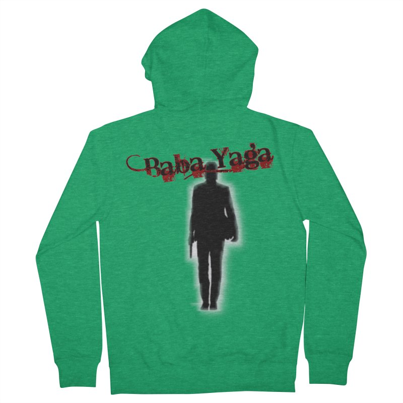 Baba Yaga Women's French Terry Zip-Up Hoody by DesignsbyAnvilJames's Artist Shop