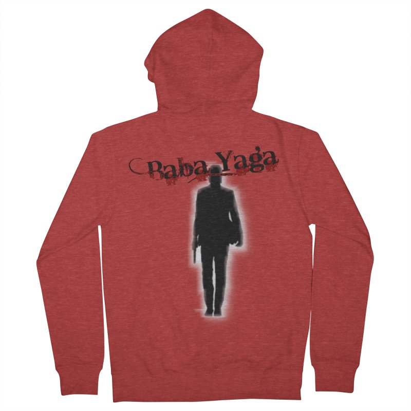 Baba Yaga Men's French Terry Zip-Up Hoody by DesignsbyAnvilJames's Artist Shop