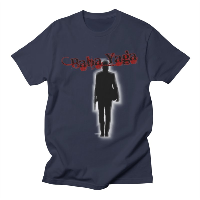 Baba Yaga Men's T-Shirt by DesignsbyAnvilJames's Artist Shop