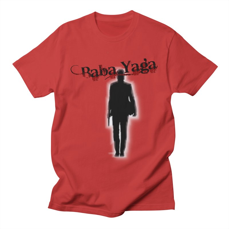 Baba Yaga Men's Regular T-Shirt by DesignsbyAnvilJames's Artist Shop