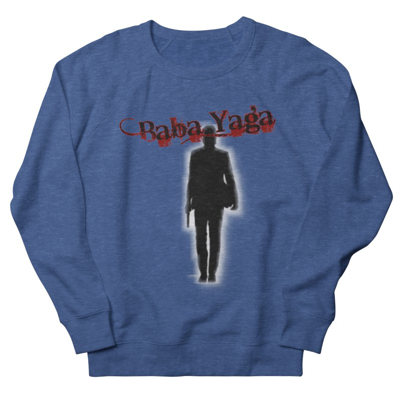 Baba Yaga Men's French Terry Sweatshirt by DesignsbyAnvilJames's Artist Shop