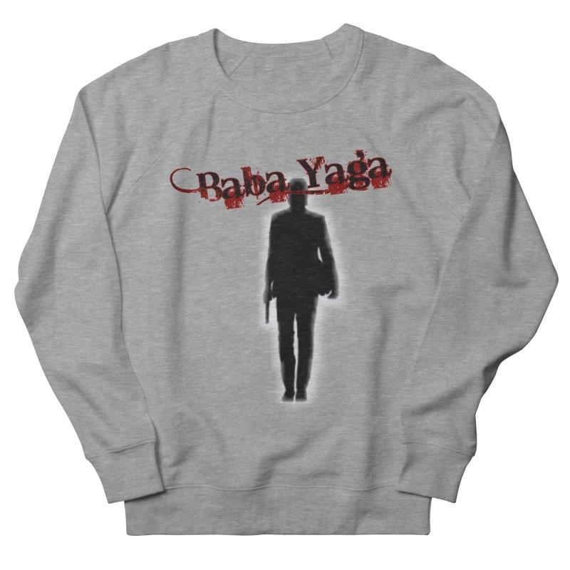 Baba Yaga Men's French Terry Sweatshirt by DesignsbyAnvilJames's Artist Shop