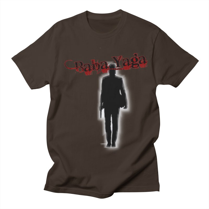 Baba Yaga Men's Regular T-Shirt by DesignsbyAnvilJames's Artist Shop