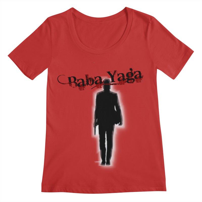 Baba Yaga Women's Scoop Neck by DesignsbyAnvilJames's Artist Shop
