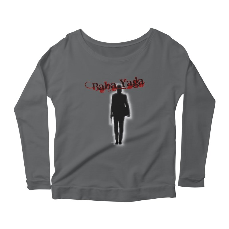 Baba Yaga Women's Scoop Neck Longsleeve T-Shirt by DesignsbyAnvilJames's Artist Shop