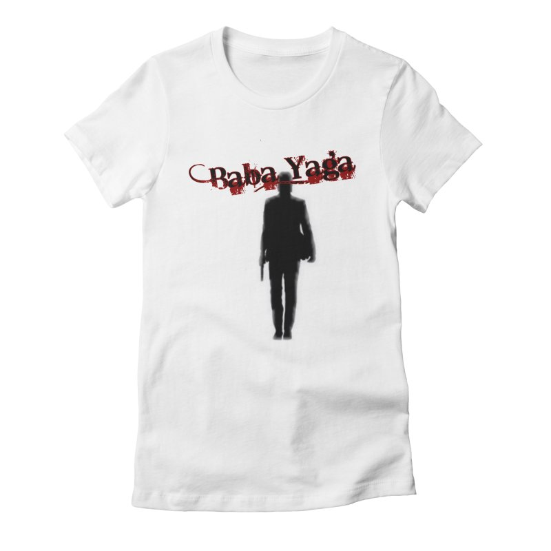 Baba Yaga Women's Fitted T-Shirt by DesignsbyAnvilJames's Artist Shop