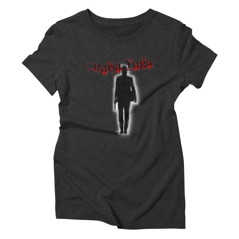 Baba Yaga Women's Triblend T-Shirt by DesignsbyAnvilJames's Artist Shop
