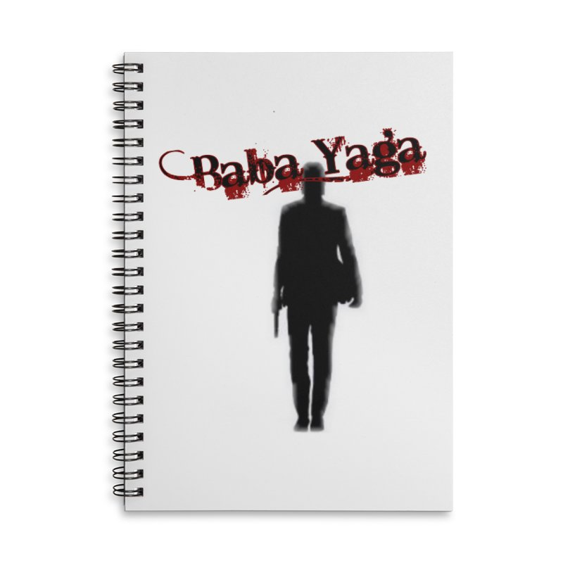 Baba Yaga Accessories Lined Spiral Notebook by DesignsbyAnvilJames's Artist Shop