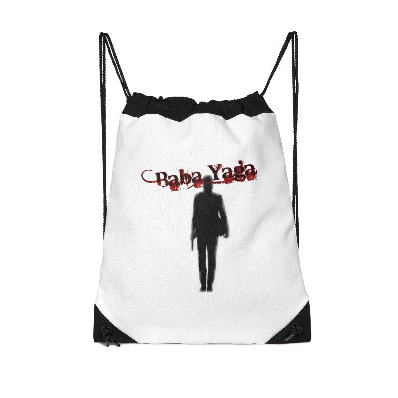 Baba Yaga Accessories Drawstring Bag Bag by DesignsbyAnvilJames's Artist Shop