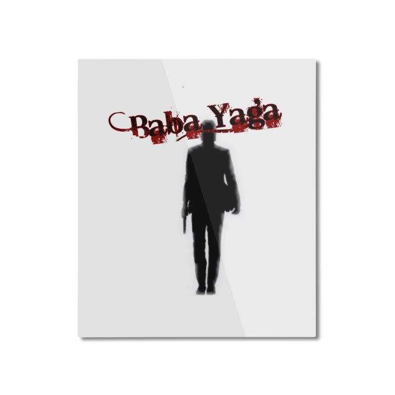 Baba Yaga Home Mounted Aluminum Print by DesignsbyAnvilJames's Artist Shop