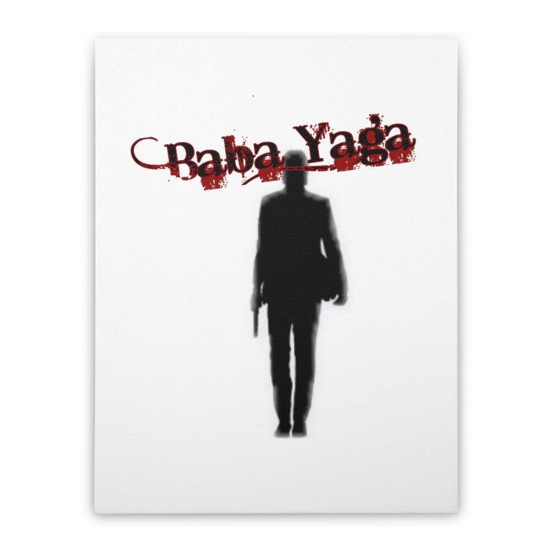 Baba Yaga Home Stretched Canvas by DesignsbyAnvilJames's Artist Shop