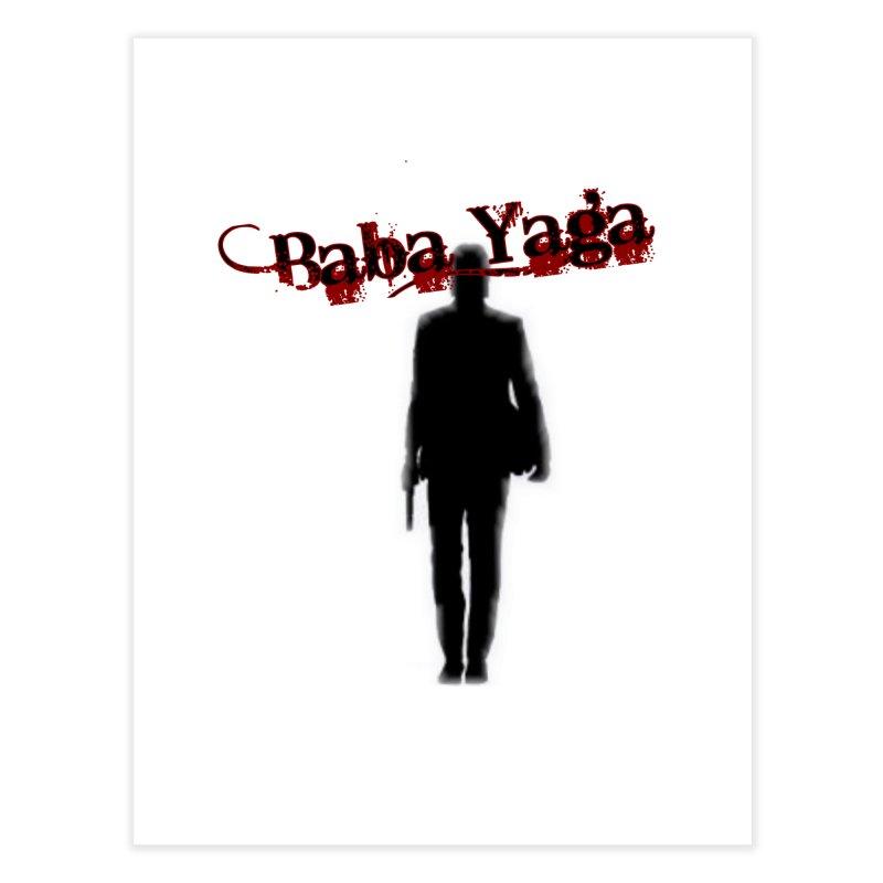 Baba Yaga Home Fine Art Print by DesignsbyAnvilJames's Artist Shop