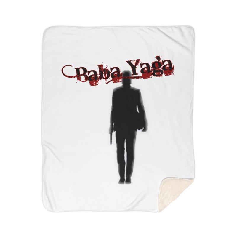 Baba Yaga Home Sherpa Blanket Blanket by DesignsbyAnvilJames's Artist Shop