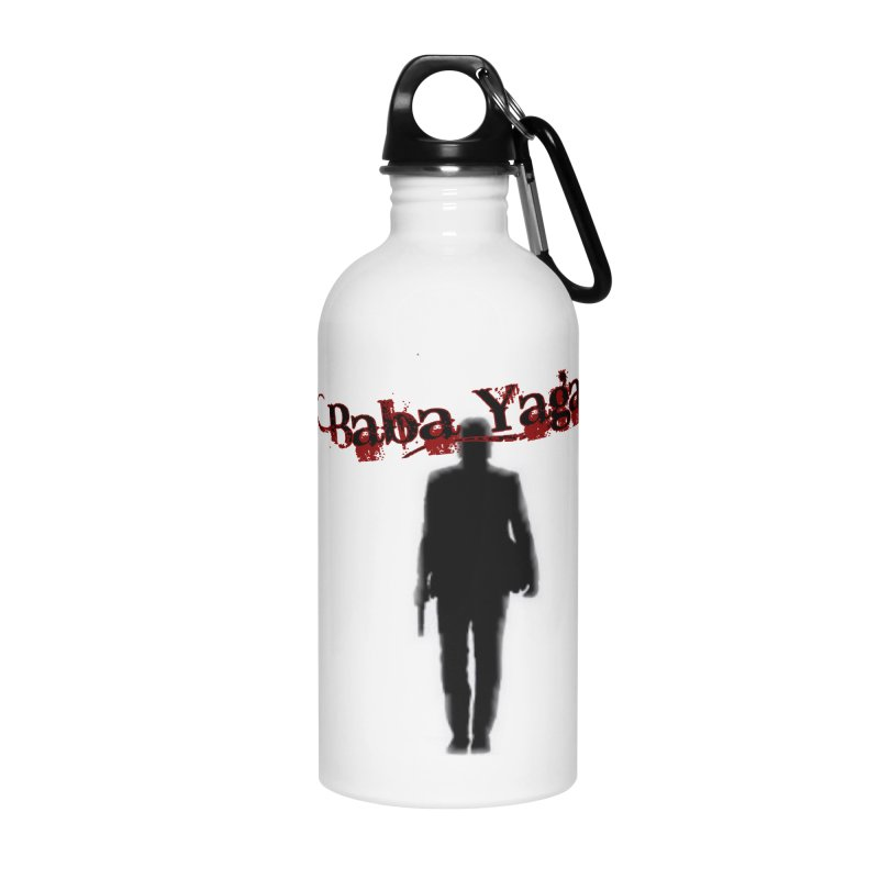 Baba Yaga Accessories Water Bottle by DesignsbyAnvilJames's Artist Shop