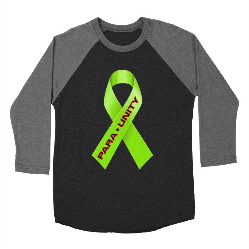 Paraunity Women's Baseball Triblend Longsleeve T-Shirt by DesignsbyAnvilJames's Artist Shop