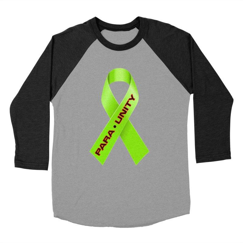 Paraunity Men's Baseball Triblend Longsleeve T-Shirt by DesignsbyAnvilJames's Artist Shop