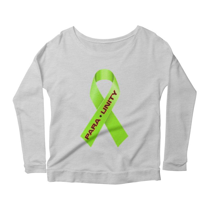 Paraunity Women's Scoop Neck Longsleeve T-Shirt by DesignsbyAnvilJames's Artist Shop