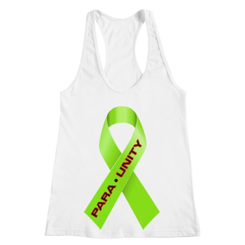 Paraunity Women's Racerback Tank by DesignsbyAnvilJames's Artist Shop