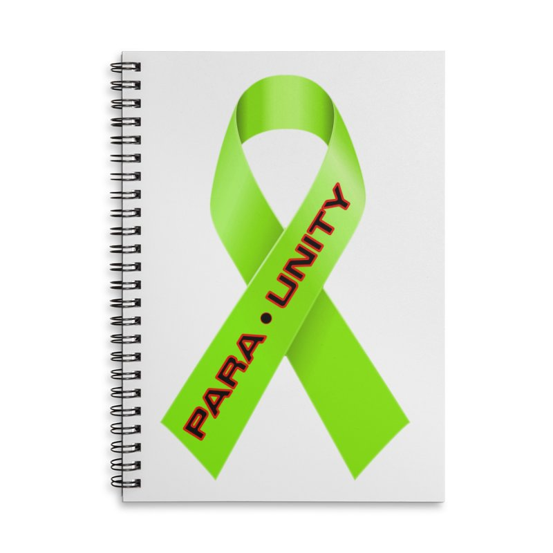 Paraunity Accessories Notebook by DesignsbyAnvilJames's Artist Shop
