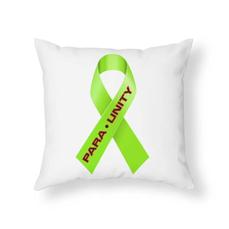 Paraunity Home Throw Pillow by DesignsbyAnvilJames's Artist Shop