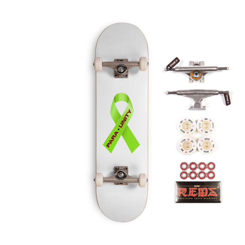 Paraunity Accessories Skateboard by DesignsbyAnvilJames's Artist Shop