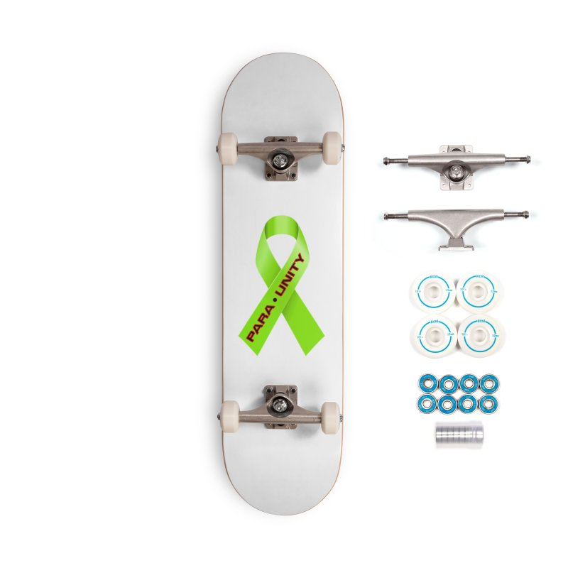 Paraunity Accessories Complete - Basic Skateboard by DesignsbyAnvilJames's Artist Shop