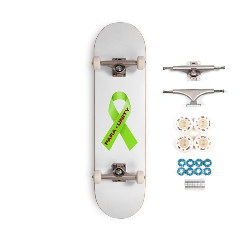 Paraunity Accessories Complete - Premium Skateboard by DesignsbyAnvilJames's Artist Shop