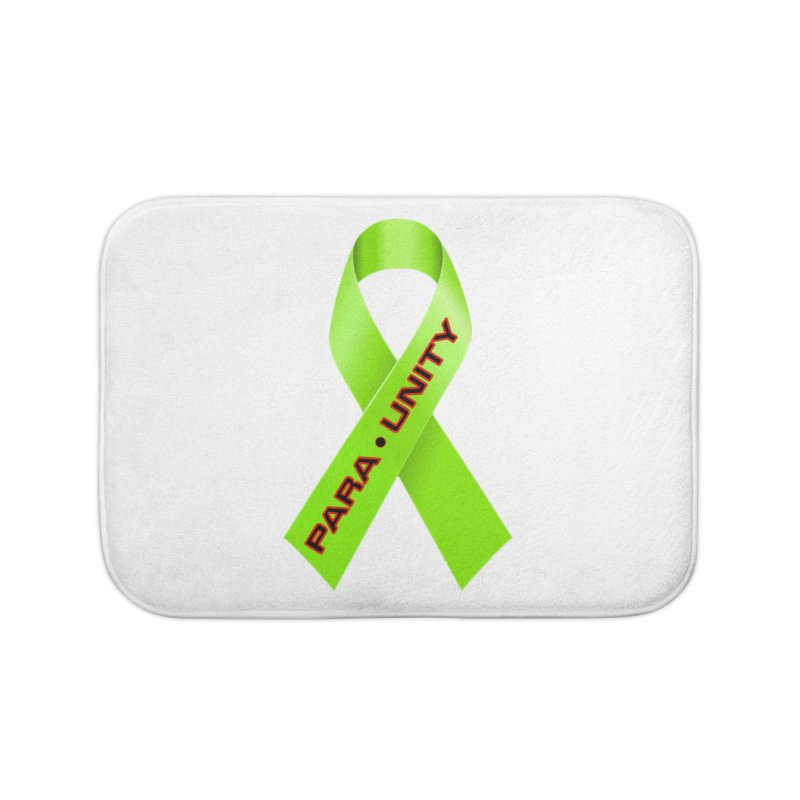 Paraunity Home Bath Mat by DesignsbyAnvilJames's Artist Shop