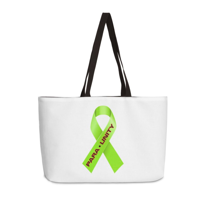 Paraunity Accessories Weekender Bag Bag by DesignsbyAnvilJames's Artist Shop