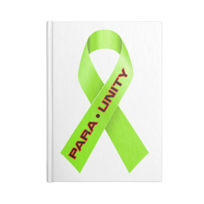 Paraunity Accessories Lined Journal Notebook by DesignsbyAnvilJames's Artist Shop